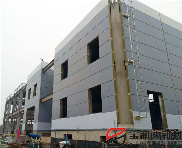 宝润达聚氨酯复合板应用国家电网变电站项目