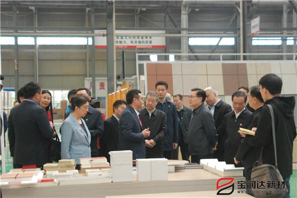 全国人大副委员长王东明来访宝润达